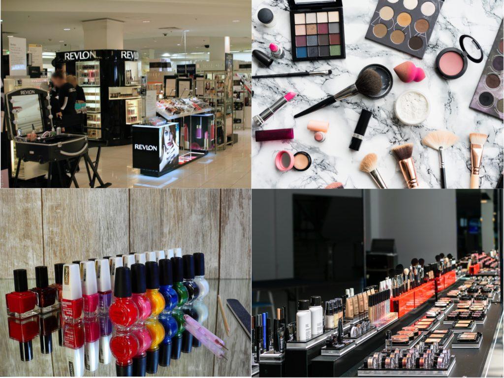 Salg af kosmetik og skønhedsprodukter
