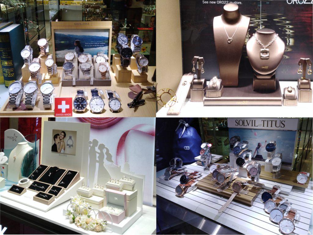 Salg af smykker og ure