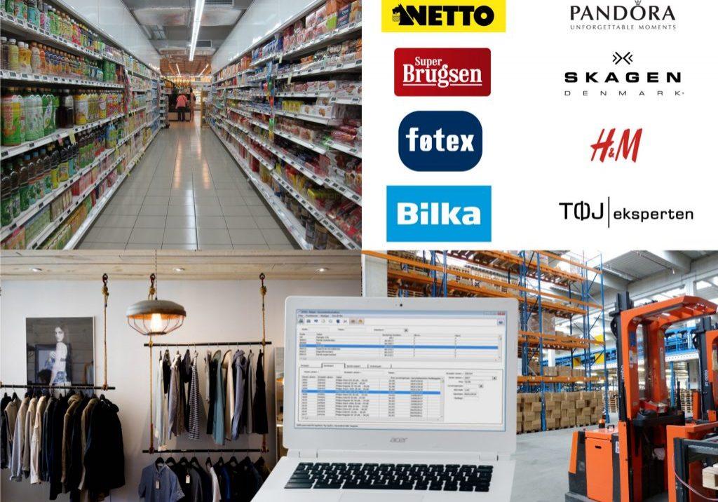 Salg til butikker